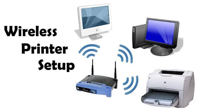 Install Wireless Printer