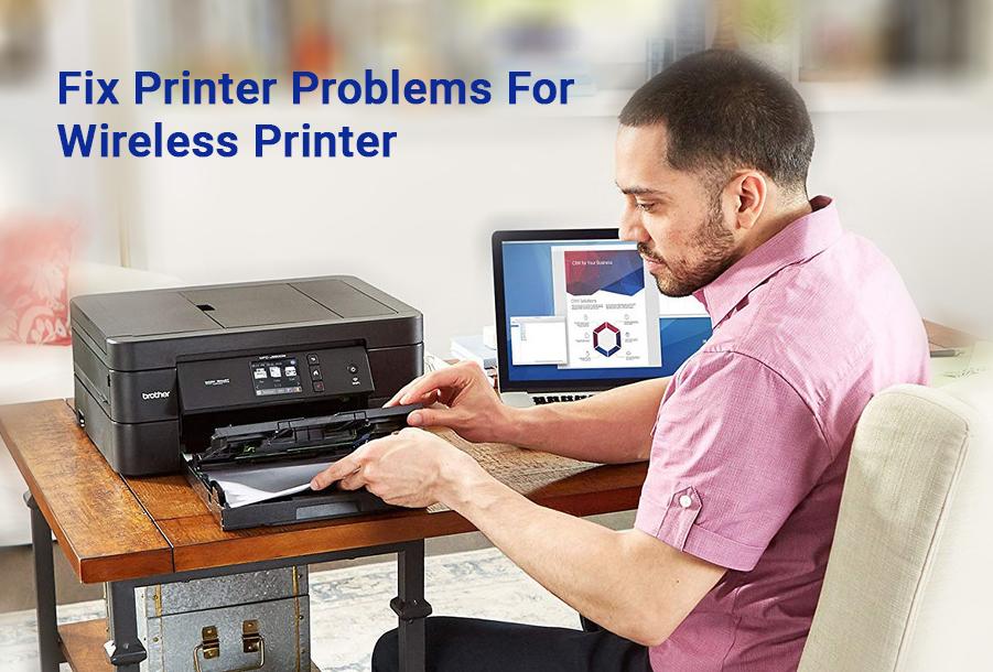 Fix Printer Problems For Wireless Printer