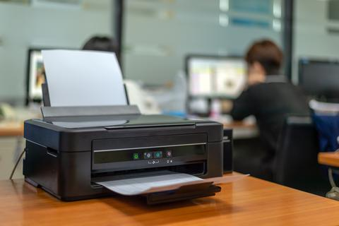 Check the printer connection